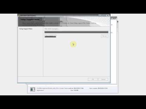 Microsoft® SQL Server® 2008 R2 + Management Studio (Installation)