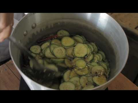Chef Angela - Spicy Bread and Butter Pickles