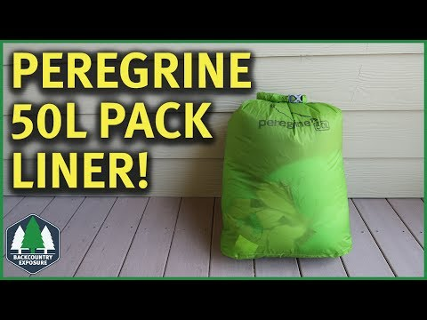Pack Liners vs Pack Covers | Peregrine 50L Pack Liner
