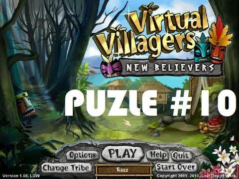 Virtual Villagers 5 - Guia de puzles (puzle nº 10)