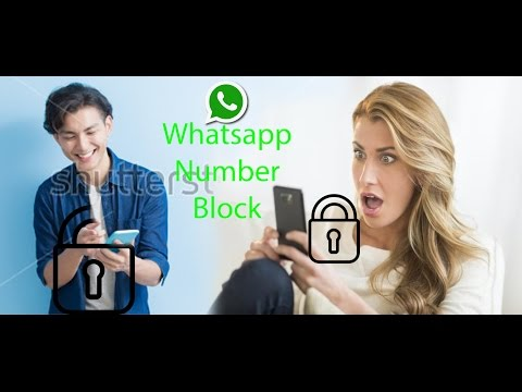 how to unblock our self if somebody block us on whatsapp (Open Description)