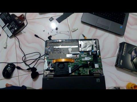 Cara Upgrade  Bongkar Lenovo IdeaPad Yoga 14