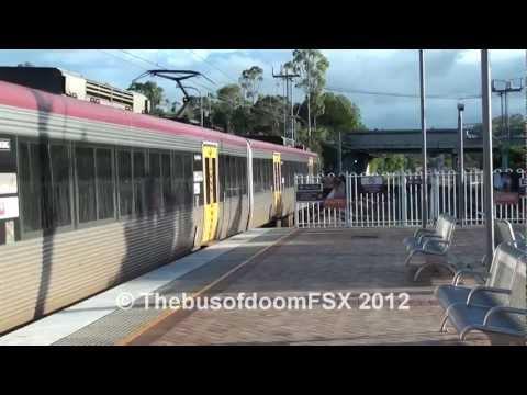 Trains at Nerang - Queensland Rail.