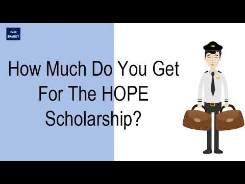 How Much Do You Get For The HOPE Scholarship?
