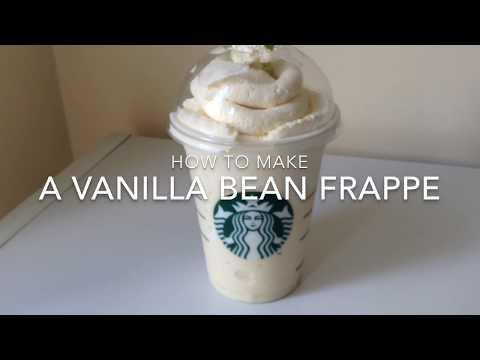 DIY STARBUCKS VANILLA BEAN FRAPPE | SWIPE WEEKEND |