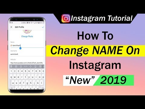 How To Change Name On Instagram