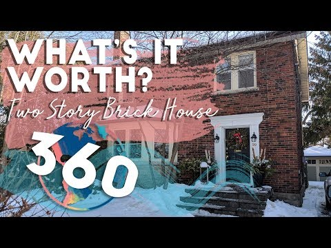 360 HOME TOUR | Can You Guess The Worth Of This Two Story Brick House?