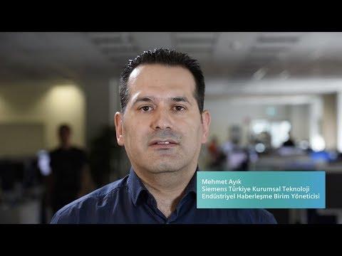 Siemens Türkiye Kurumsal Teknoloji SIMATIC NET Projesi - Mehmet Ayık