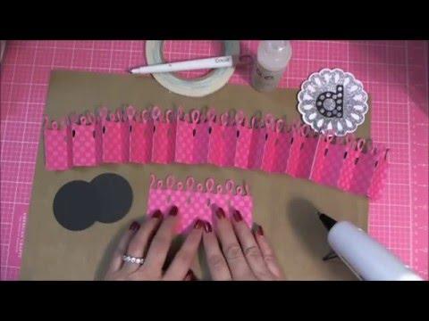 How to Make Rosettes Using Cricut Ribbons & Rosettes Cartridge