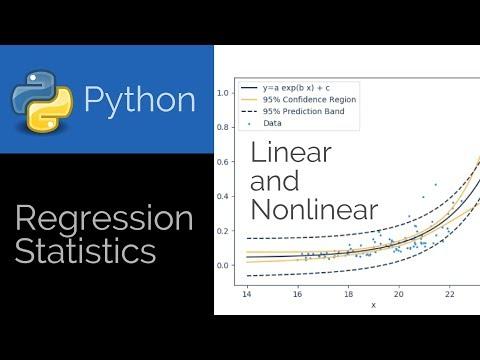 Regression Statistics in Python