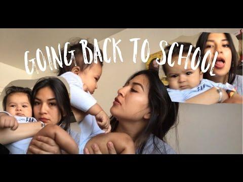 TEEN MOM: STARTED SCHOOL, LEAVING MY BABY BEHIND?):