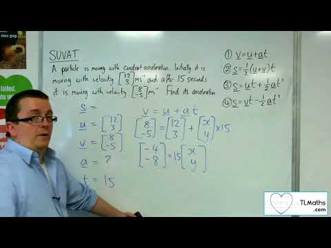 A-Level Maths 2017 Q3-15 SUVAT: 2D Example 2