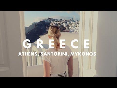 GREECE TRAVEL // Athens, Santorini, Mykonos