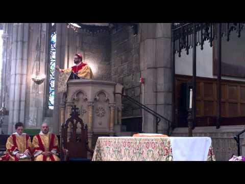 Archbishop Dr. Craig J. N. de Paulo Preaching on the Gospel of St. Mark 10:46-52