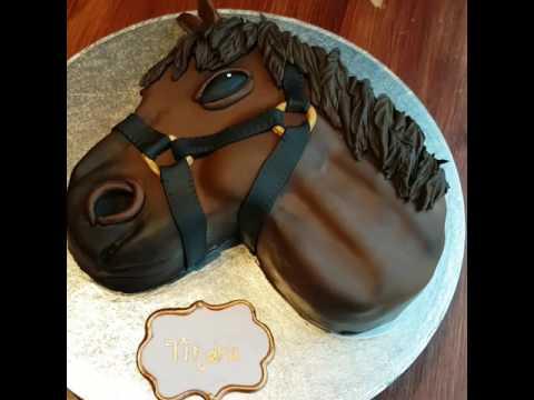 My little horse cake