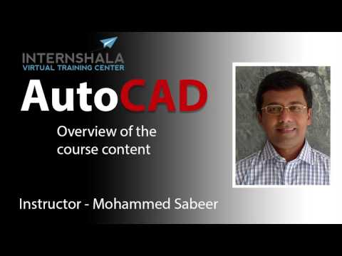 LEARN AUTOCAD SYSTEMATICALLY  | AUTOCAD COURSE