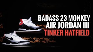 "988fbc7b6a5 Real vs fake comparison of Nike air Jordan 3 ""Tinker"" from ..."