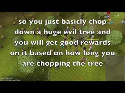 Runescape - Evil Tree Distraction & Diversion - Guide & Review (NEW MINIGAME)