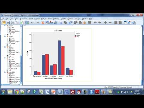 SPSS - Summarizing Two Categorical Variables