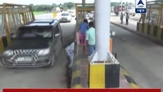 Watch Mohammad Shahabuddin's convoy pass by without paying toll tax