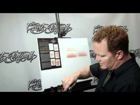 How to Airbrush w/ Createx Wicked Flesh Tones w/ Steve Driscoll