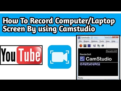 how to record your computer screen with camstudio