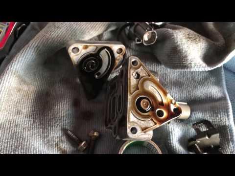 Honda S2000 VTEC solenoid oil fix