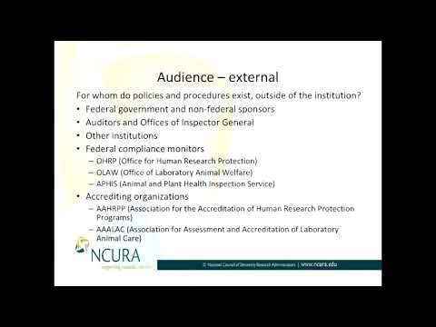Who is Your External Audience When Developing Policies and Procedures?