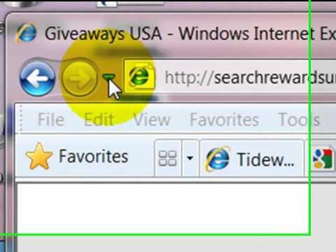 Browser Orientation: Internet Explorer 8