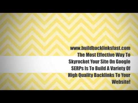 Build Backlinks Fast. High Quality Backlinks Fast To Your Website.