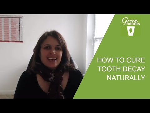How To Cure Tooth Decay Naturally: What To Eat and Supplements To Take