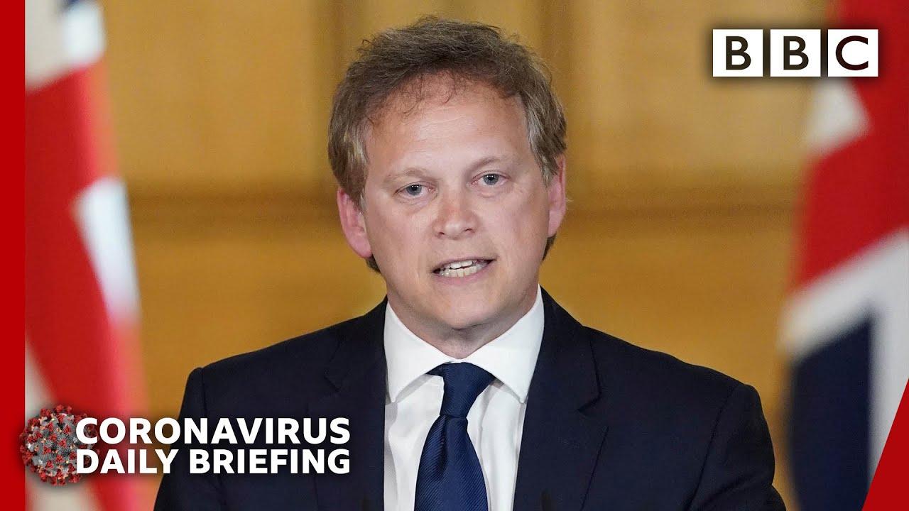 Coronavirus: Virus peak is not over - Shapps 🔴 @BBC News - BBC