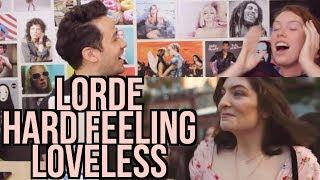 LORDE - Hard Feelings / Loveless - (Vevo x Lorde) REACTION!!