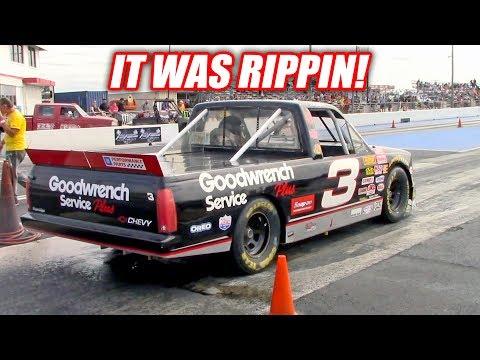 I Took My NASCAR Drag Racing! *Extreme Freedom*