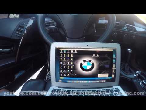 BMW coding using a MAC and setting up ncexpert profile.