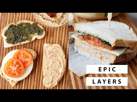 Healthy Lunch Idea: Veggie Club Sandwich