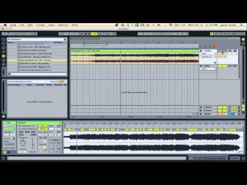 Make Ableton follow a song's tempo | Ableton Tutorial | Ableton Warping Tutorials