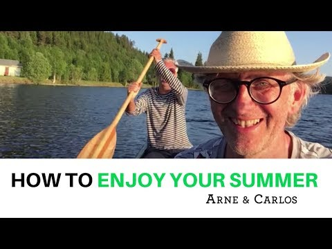 How to enjoy a lovely pre-summer evening by ARNE & CARLOS.