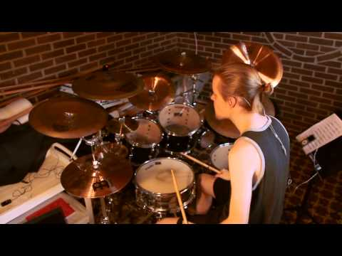 Obituary-Back from the dead drum cover HD