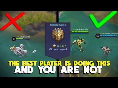 8 Tips From The Best Player You Should Follow! Mobile Legends Global 1