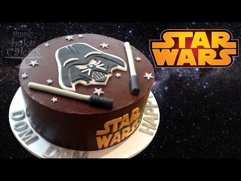 Star wars cake TUTORIAL