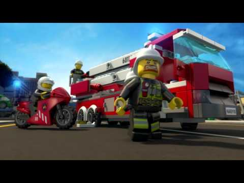 All Hands to the Rescue - LEGO City: Fire Brigade - Mini Movie (3D)