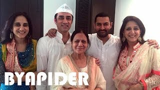 Aamir Khan Family  Photos    Father, Mother, Brother, Sister, Wife, Daughter & Son!!!