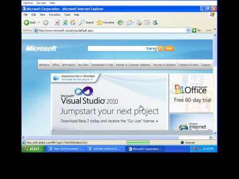 how to activate the  copy of windows xp to genuine.jhe