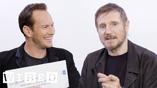 Liam Neeson & Patrick Wilson Answer the Web