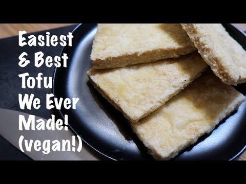 Easiest & Best Tofu We Ever Made! (vegan!)