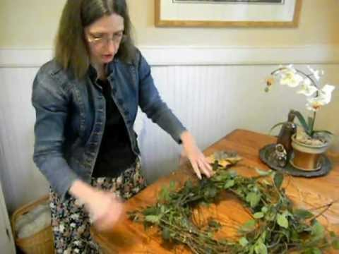 Making a Vine Wreath