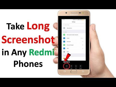 How to Take Long Screenshot in Any Redmi Phones in Hindi