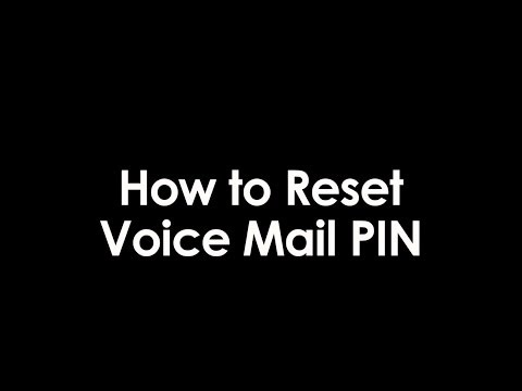 How To Reset Your Voicemail PIN with Phone Power