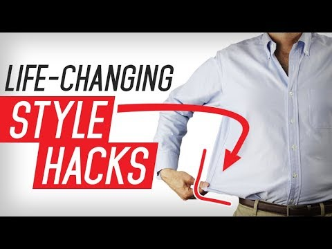 10 Incredible Men's Style Hacks To Make Life EASY
